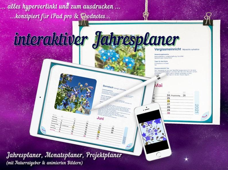calendarius 2021 Jahresplaner 2021 interaktiver Kalender image 0
