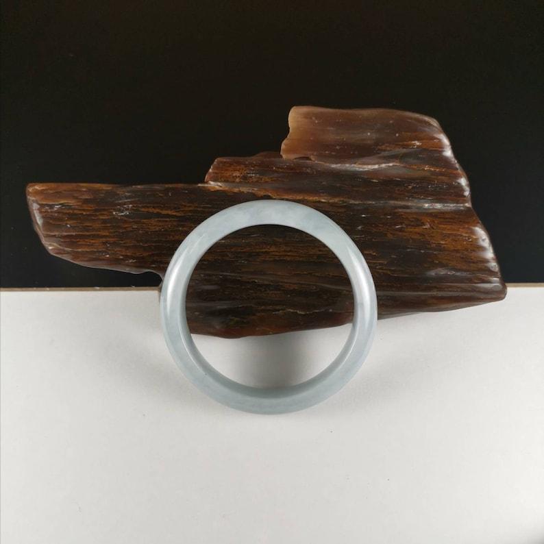 51.1mm Natural Untreated Type A Burmese Jadeite Bangle