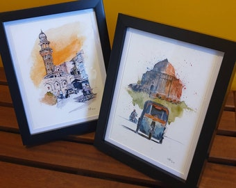 FRAME ONLY Frame Your Artwork When You Buy My Art | Sizes A3 / A4 / A5 | Black Frame