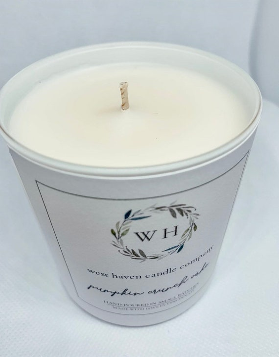 10 oz Fall Candle | Coconut Soy Wax | Wood Wick