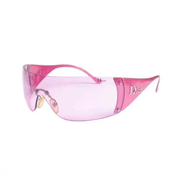 DIOR 2000s Hot Pink Sunglasses