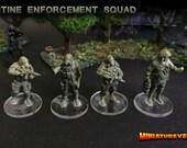 Quarantine Enforcement Squad - Modern scifi miniatures