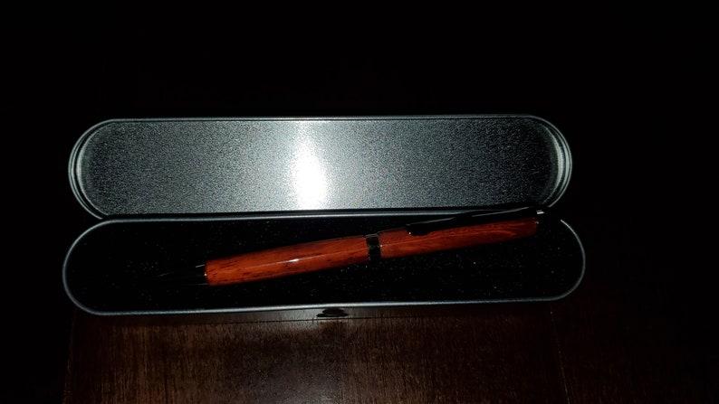 Padauk pen with stylus