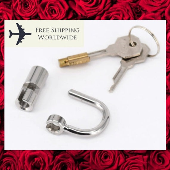 chastity lock/'s Fit the new secure type devices FREE UK DELIVERY