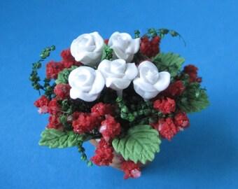 4 stücke Mini Fee Garten Ornament Hund Dekor Pot Craft Puppenhaus Zubehör  HC