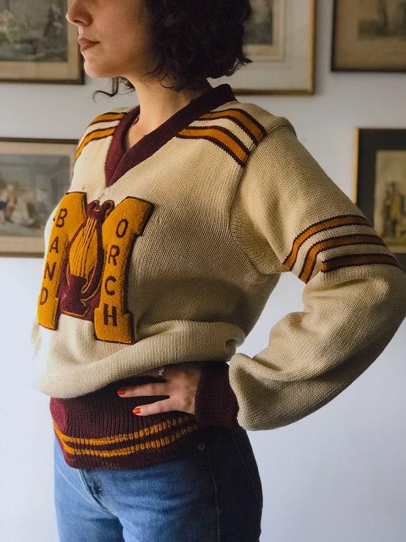 RARE 1940s Original  Vintage University Cardigan