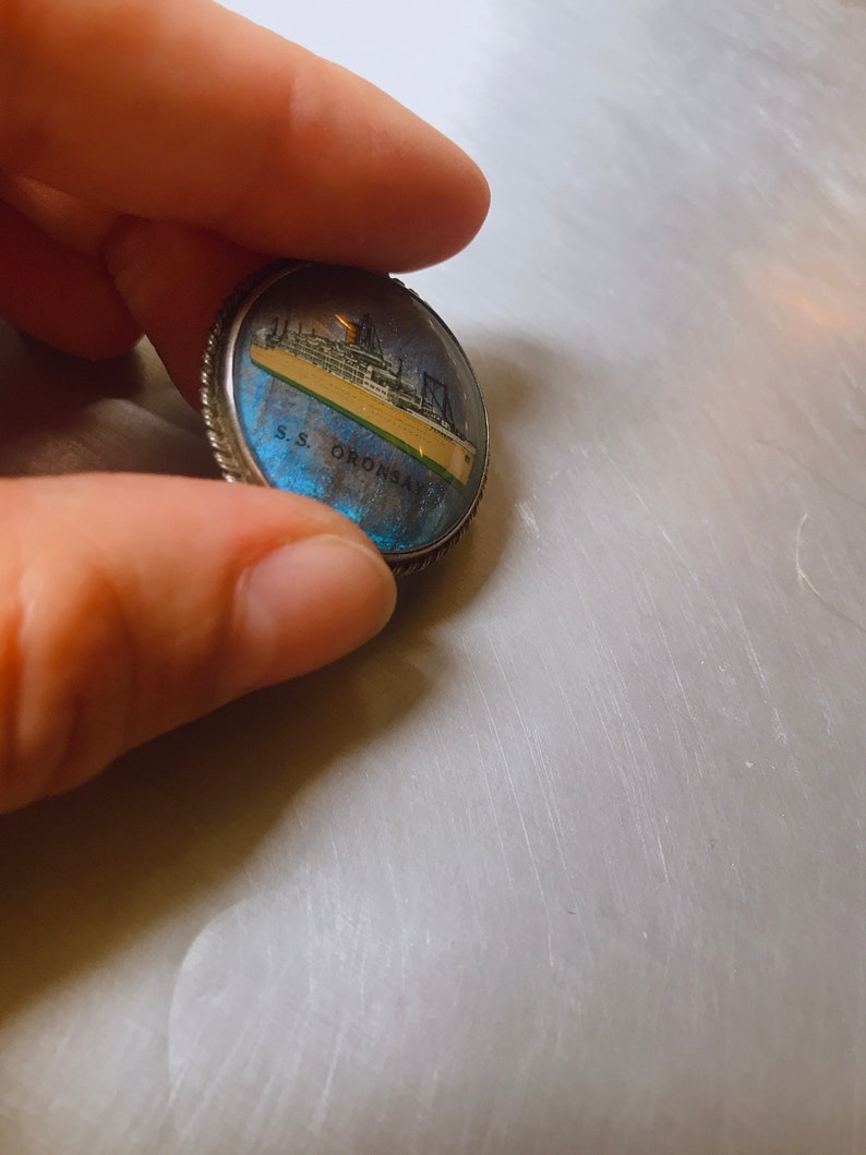 RARE 1940s50s Original Vintage Butterfly Wing Pin