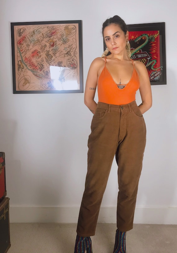 MOSCHINO Original Vintage 80s Jeans Trousers.
