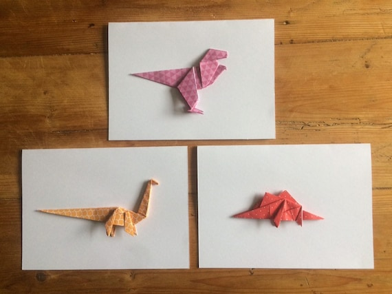 Origami Dinosaurs, a list of online, origami-dinosaur diagrams ... | 427x570