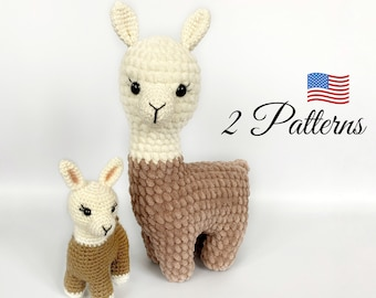 Adorable Crochet Llamas | 270x340
