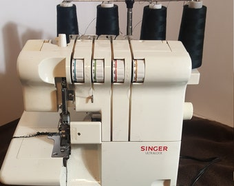 SEWING with an OVERLOCK SERGER Singer Reference Library ©1989 Excellent Book!