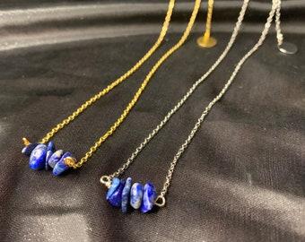 Dainty Lapis Lazuli Choker