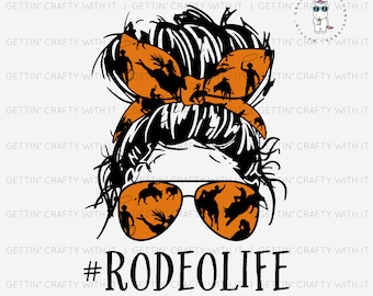 Rodeo Life Ready to Press Sublimation Transfer