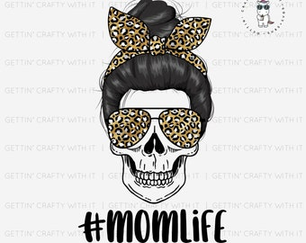 Leopard Mom Life Ready To Press Sublimation Transfer