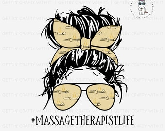 Massage Therapist Life Ready To Press Sublimation Transfer