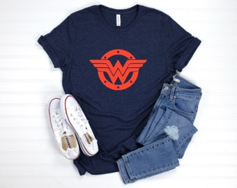 NEW Wonder Woman Personalized Birthday Party Favor Gift T-Shirt