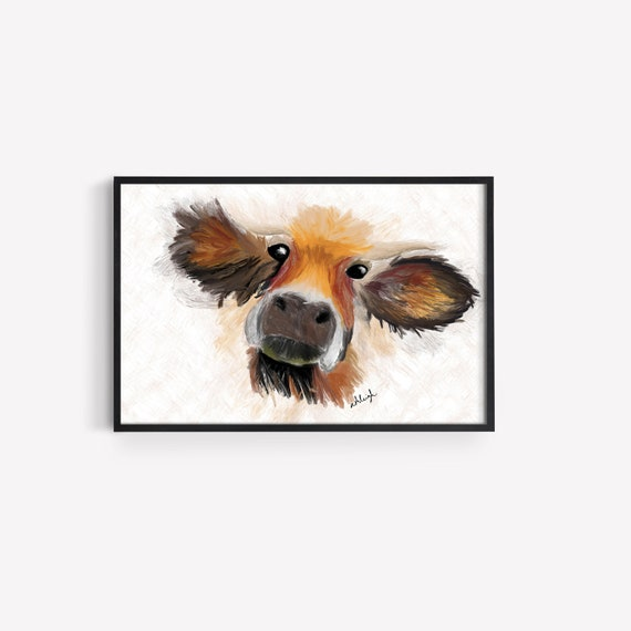 Highland Cow Illustration - Limited Edition Print