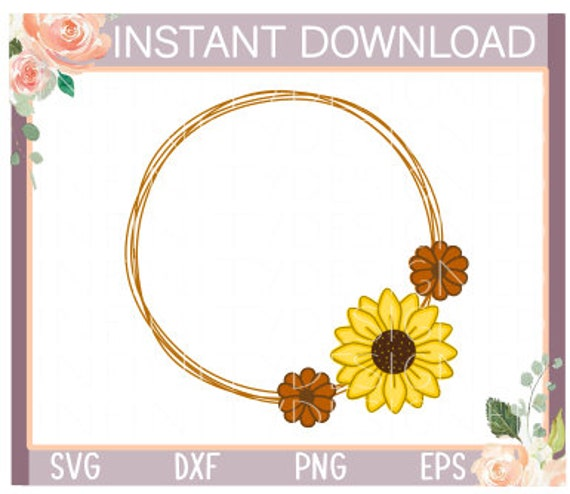 Download Fall Wreath, Svg, Dxf, Cricut, Silhouette, Cut File SVG