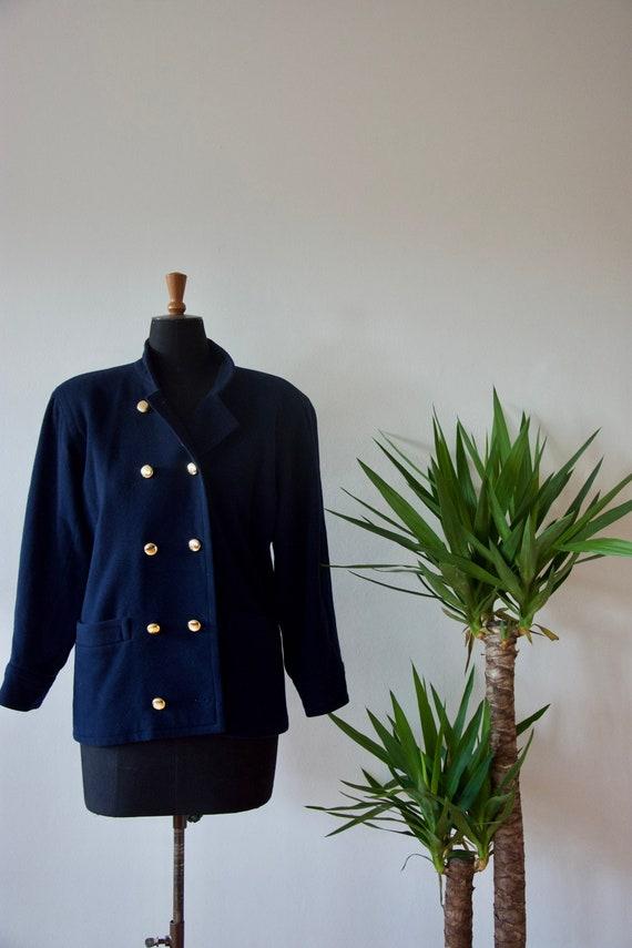 YSL 80s Vintage wool jacket