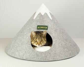 Modern Cat Bed Cat Cave Dog Bed Cat House Pet Bed Cat Gift Cat Lovers Dog House Cat Tower Cat Litter Box Cat Accessories Cat Decor