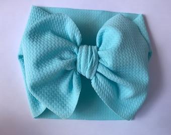 "Handmade 3"" or 5"" Hot Pink//Lemon//Spring Petite Daisies Korker Hair Bow"