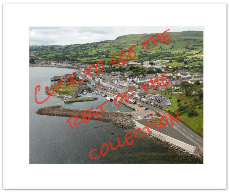 The Carnlough Collection Co.Antrim N.Ireland Landscape image 0