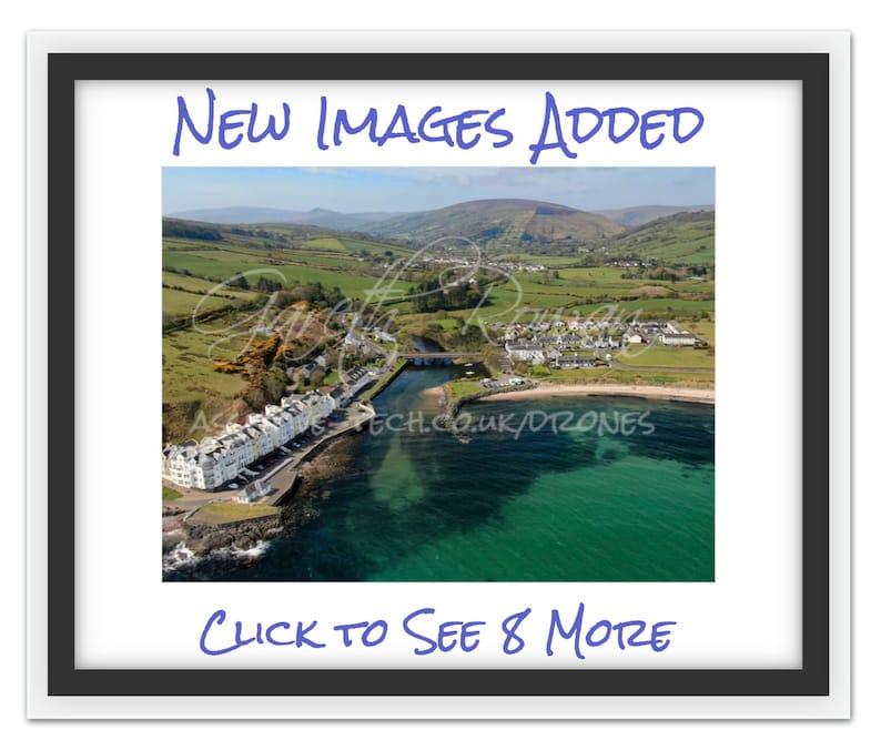 The Cushendun Collection Co.Antrim N.Ireland Landscape Drone image 0