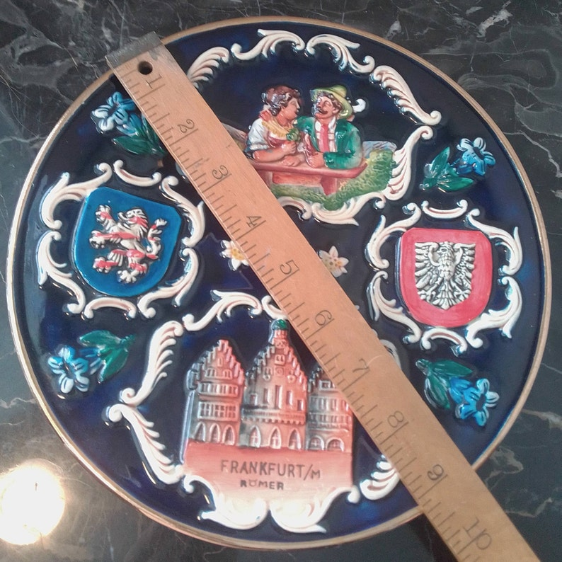 FrankfortM Romer Souvenir plate