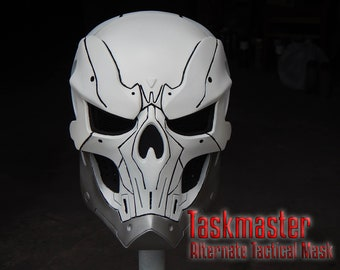 Taskmaster Alternate Tactical Mask Helmet (physical product) for Cosplay based on design Figure by Sideshow Collectibles