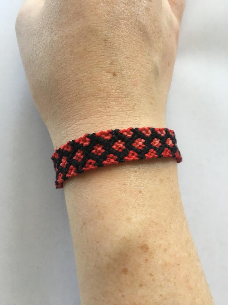 Heart Friendship Bracelet match with Kat Barrell!