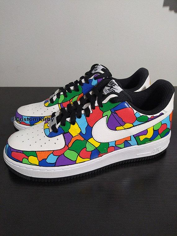 Mens Custom Nike Air Force 1 - Mosaic Design. Perfect present