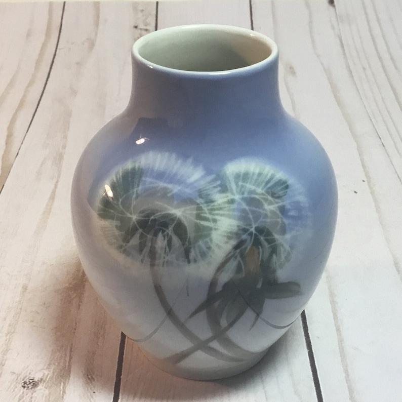 Mini Vase 2639 45A Denmark Dandelion Royal Copenhagen Wish TA