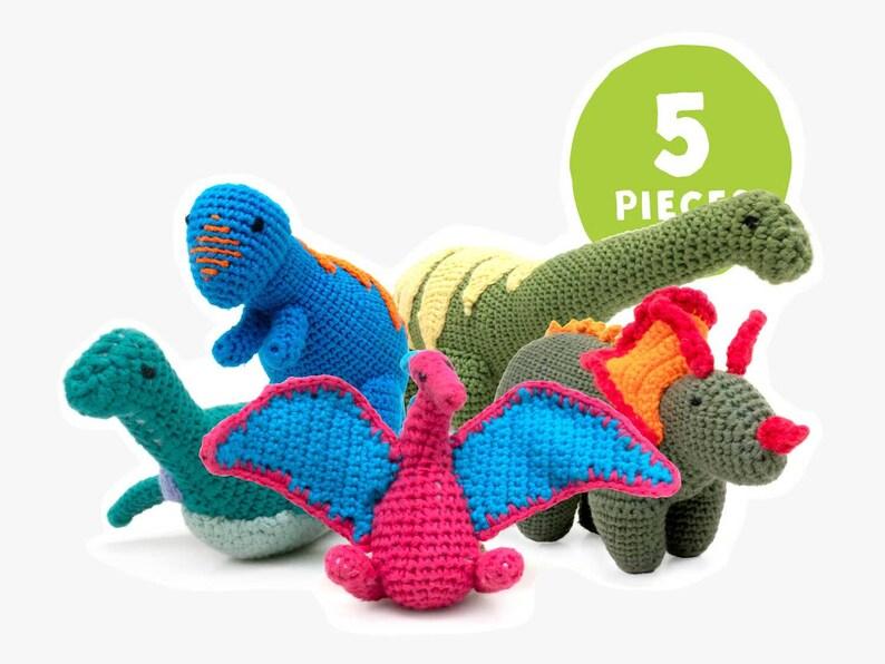 Cotton Crochet Pteranodon