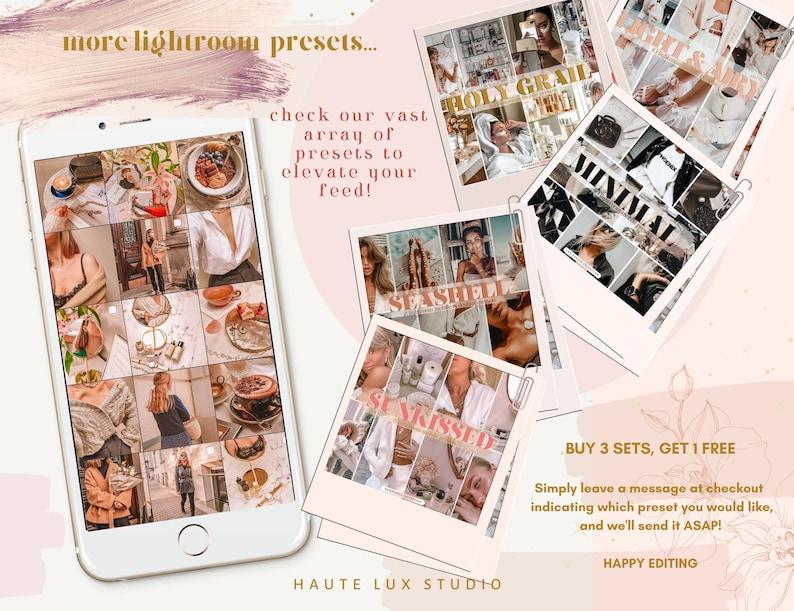 10 Light Airy Lightroom DESKTOP Presets Creme Insta Presets Instagram HYGEE Influencer Bright White Minimal Nude Creamy Blogger Presets
