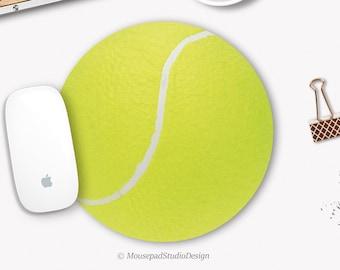 Mural Balle De Tennis Avec Visage Jeunesse Chambre Décoration