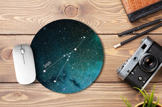 Astrology Horoscope Star Sign Aquarius Computer Mouse Pad Size