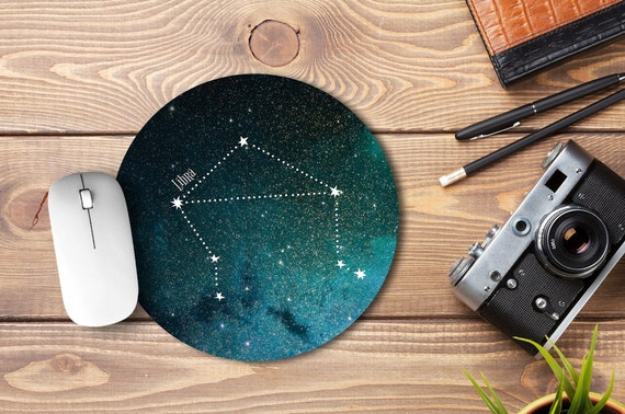 Astrology Horoscope Star Sign Libra Computer Mouse Pad Size