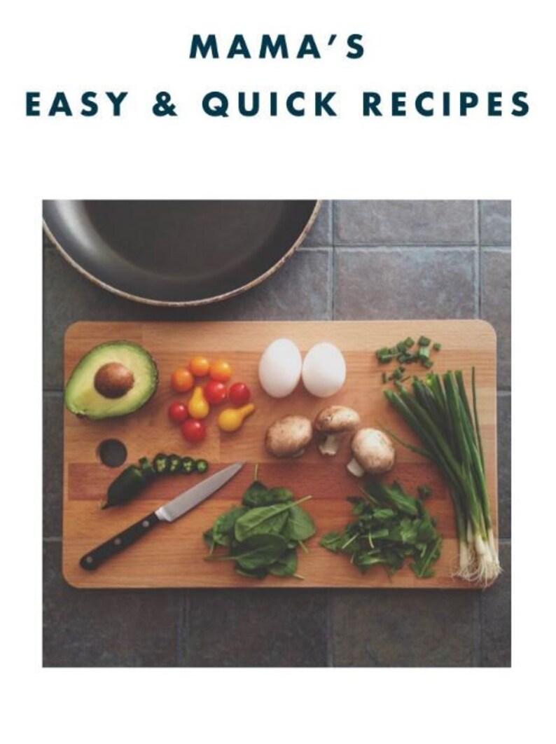 Mama's Easy Recipes image 0