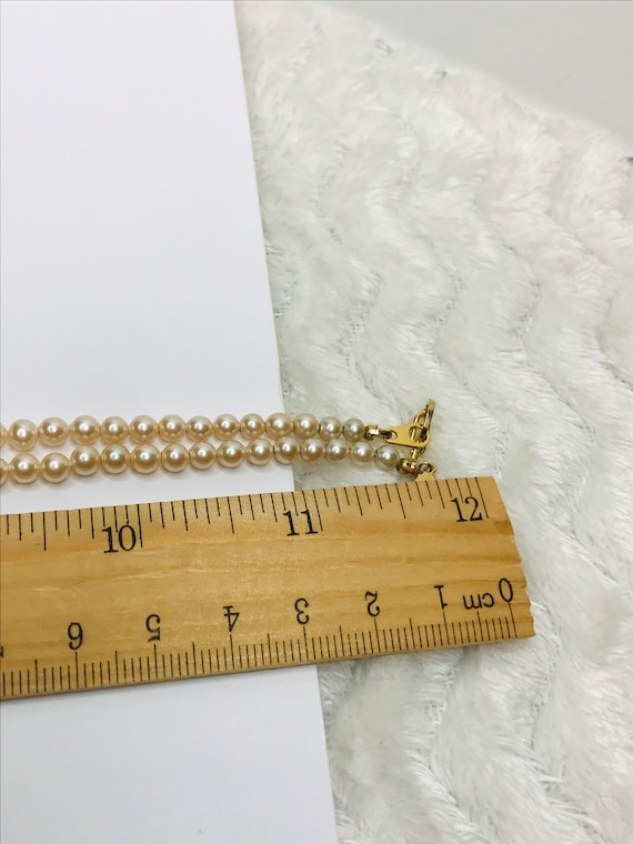 Marvella Faux Pearl Necklace - image 2