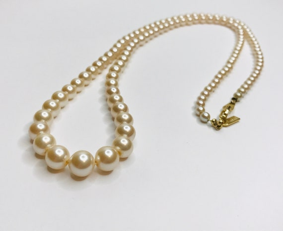 Marvella Faux Pearl Necklace - image 6
