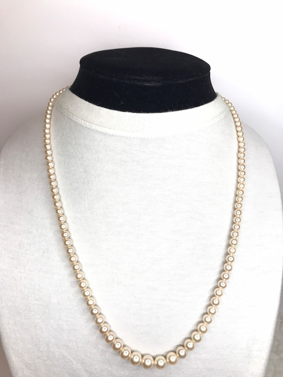 Marvella Faux Pearl Necklace - image 1