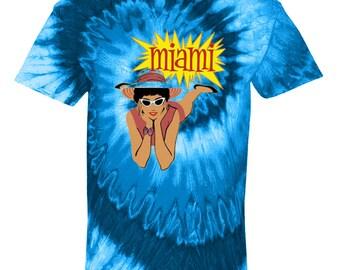 Miami Tye Dye Tie Dye