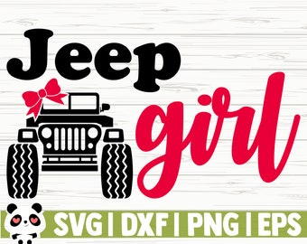 Jeep Vector File Etsy