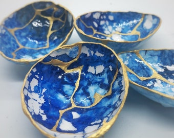 sympathy and healing Rainbow Colors with gold Kintsugi Egg gift of encouragement love
