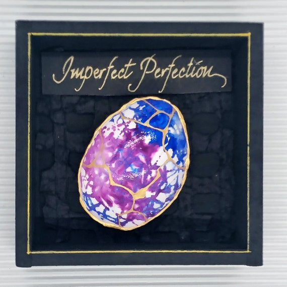 love Kintsugi Eggshells gift of encouragement sympathy and healing personalization available choice of colors