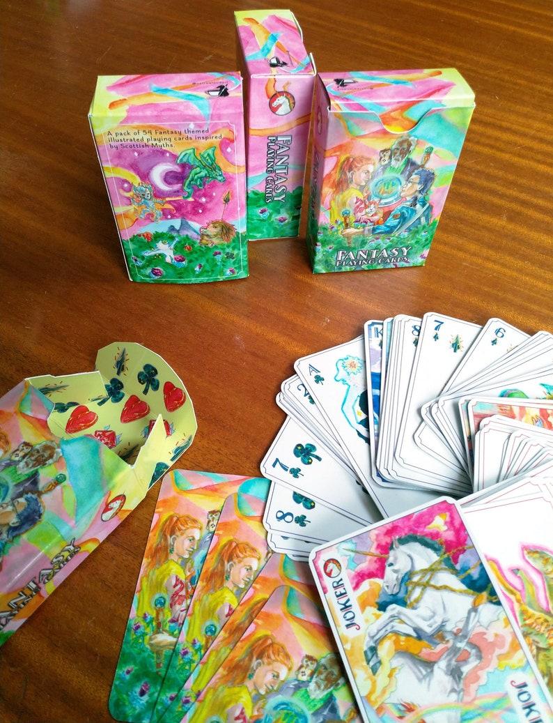 Fantasy Playing Cards image 0