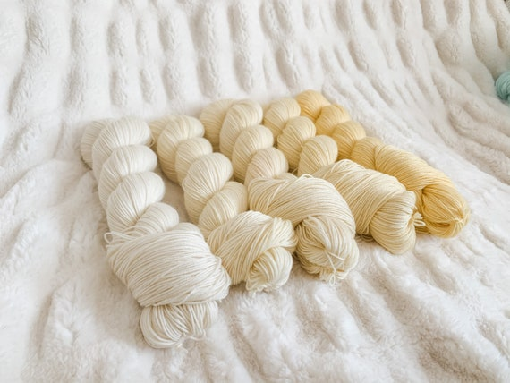 Buttercup Fade Set on sock or DK, full or mini skeins