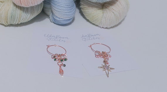 Christmas Collection Progress Keeper and Stitch Marker Set