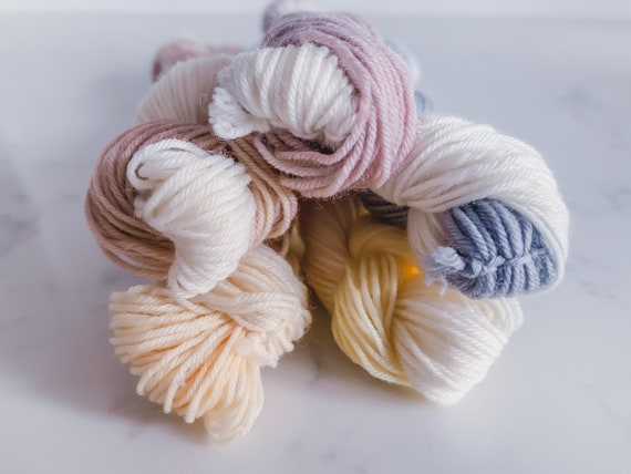 Delicate Neutral Ombre Yarn Mini Bundle