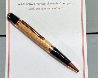 IT'S PERFECT SENSE - a handcrafted Wall St. Pen